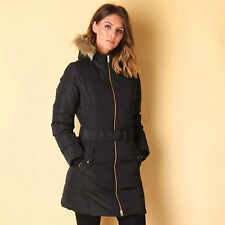 Womens adidas Neo Elongated Down Jacket In Black From Get The Label