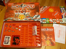 Monopoly Board Game Manchester United Edition Complete and VGC