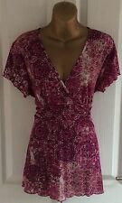 LOVELY PLUS SIZE 20 SUMMER CASUAL BLOUSE TOP LADIES CLOTHING* BNWT