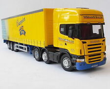 Cararama Scania R 620 truck& curtainside trailer - Whitworth Bros- 1/50