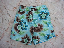 BABY GAP Boys Blue-Green Floral Swimming Shorts * 18 - 24 Months *