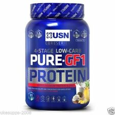 USN PURE PROTEIN GF-1 1KG 1000g 2.2KG 2280g STAGE 4 PETIT LAIT SOJA OEUF
