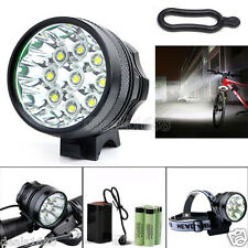 28000LM CREE XM-L T6 LED 18650 Ciclismo Biciclette Luce Anteriore Impermeabile