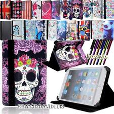 "Universal Folio Leather Case Flip Cover For 7"" 8"" 9"" 10"" Android/Windows Tablet"