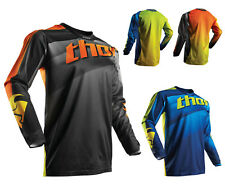 Thor Mx Jersey Impulsi Straight Mx Maglia per Motocross Enduro Mx Cross
