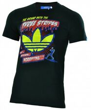 Adidas B Movie Tee uomo Originals Trefoil maglietta T-Shirt nera