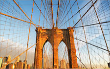 Poster / Leinwandbild USA, New York State, New York City, Span of Brooklyn...