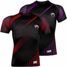 VENUM RAPID SHORT SLEEVE RASHGUARD - MMA Bjj Training Sparring