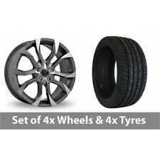 """4 x 20"""" Wolfrace Assassin Alloy Wheel Rims and Tyres -  295/40/20"""