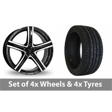 """4 x 20"""" Wolfrace Quinto SUV Alloy Wheel Rims and Tyres -  295/40/20"""