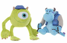 """OFICIAL 8"""" MIKE Y SULLEY MONSTERS INC UNIVERSIDAD JUGUETES PELUCHES SUAVES"""