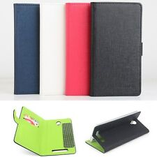 Hit-Color PU Leather Stand Wallet Flip Case Cover For Blackview BV5000 Phone