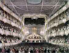Poster / Leinwandbild Covent Garden Theater - Thomas Rowlandson