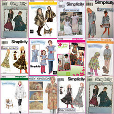 OOP Daisy Kingdom Simplicity Sewing Pattern Misses Mom & Childs Girls You Pick