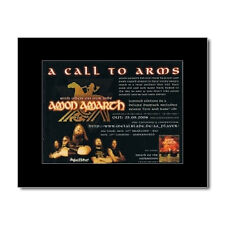 AMON AMARTH - With Oden On Our Side Matted Mini Poster