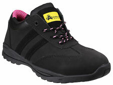 Amblers FS706 Sophie Safety Shoes Womens Ladies Steel Toe Cap Trainers UK3-9