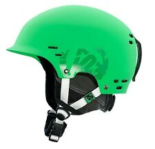 K2 THRIVE Freeride Snowboard - Sci - Casco verde