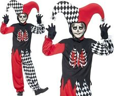 Childrens Halloween Fancy Dress Blood Curdling Jester Costume by Smiffys New