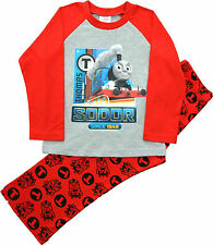 TT22 De niño Thomas and Friends Thomas Locomotora Pijama Sizes 12 Meses a 5 años