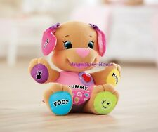 Fisher Price Laugh & Learn Learning sister Puppy educational toy