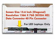 """New 15.6"""" LED For Asus X52n Laptop LED Screen Glossy HD 15.6 Inch"""