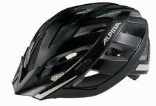 Alpina Adulti Casco per bicicletta Panoma City Flash nero opaco riflettente