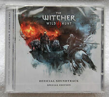 The Witcher 3 Wild Hunt Official CD Soundtrack Special Edition still sealed
