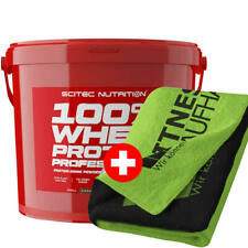 Scitec Nutrition 100 % Whey Protein Professional 5000g Eiweiss + Handtuch