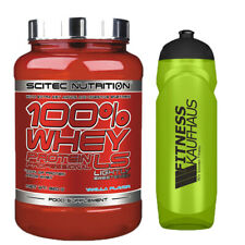 Scitec Nutrition 100% Whey Protein Professional LS 920g Eiweiss + Trinkflasche