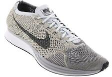 Nike Flyknit Racer Pure Platinum Cool Grey White Mens Trainers 862713 002