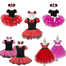 Kids Girls Baby Toddler Princess Outfits Set Party Costume Tutu Dress + Headband
