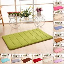Memory Foam Mat Absorbent Slip-resistant Pads Bathroom Shower Kitchen Bath Mats