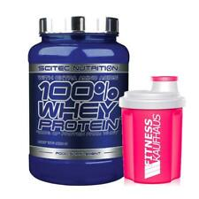 Scitec Nutrition 100% Whey Protein 920g Eiweiss + Ladyline Shaker