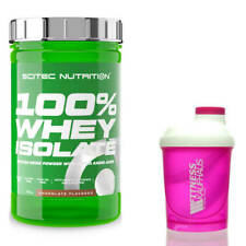 Scitec Nutrition 100% Whey Isolate 700g Eiweiss + Ladyline Shaker
