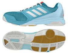 Adidas Indoor Multido Essence Blue White Shoes Trainers AQ6286 - Women's