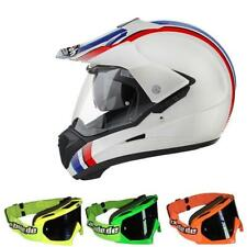 Airoh Jumper Casco Motocross Line Blanco MX-Bude MX-2 Gafas MX Cross