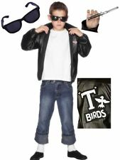 Official Licensed Grease T-Birds 50s Film Fancy Dress Costume Boys 7-12 years