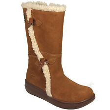 Rocket Dog Botas de ante Slope para mujer (marrones)