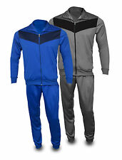 Tricot Tracksuit Running Jogging Exercise Casual Trouser Jacket Mens Sports Wear