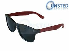 Red Wayfarer Adult Sunglasses with Black Arms Sunglasses Sunnies Shades AW011