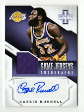 CAZZIE RUSSELL NBA 2013-14 INNOVATION GAME JERSEYS AUTOGRAPHS  (L.A.LAKERS)