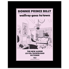 BONNIE PRINCE BILLY - Wolfroy Goes to Town Matted Mi...