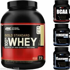 Optimum Nutrition ON 100% Gold Standard Whey Proteína 2.3kgkg + GRATIS BCAA 500g