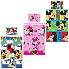 Disney Mickey Minnie Mouse Bed cover 135x200 Bed Set Set Duvet Children new