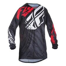FLY RACING 2017 Uomo Motocross/MTB Jersey - KINETIC Relapse - schwarz -rosso