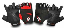 Men's Bodybuilding Weight Lifting Gym Fitness Work Out Exercise Retro Gloves