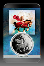 1 OZ SILVER COIN PROOF STEVE FERRIS *LADY GODIVA* NUMBERED-SPECIAL ART SLAB