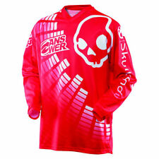 A SERIE Camiseta De Motocross SKULLCANDY rojo Enduro Cross MTB MX Quad FMX
