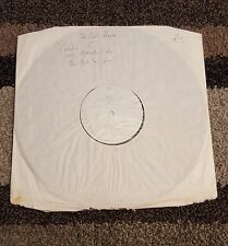 """THE REAL PEOPLE Too Much Too Young 12"""" WHITE LABEL TEST PRESSING 1992 INDIE"""