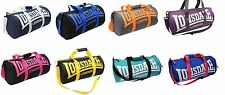 Lonsdale Barrel Sports fitness Gym running  Bag holdall Ass colours Wipe Clean